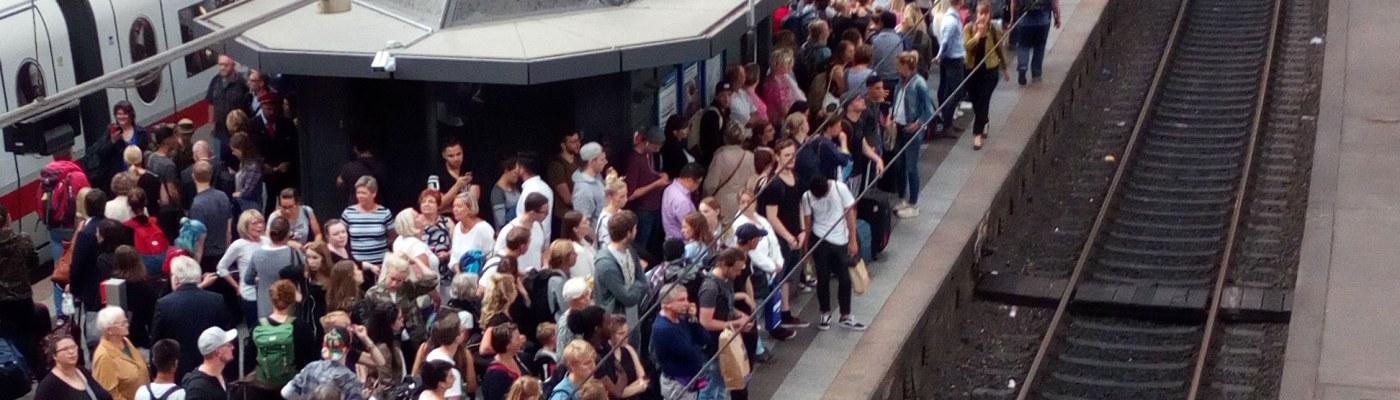 Der neue Stefan Hauptbahnhof