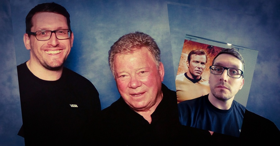 Stefan Kübler und William Shatner