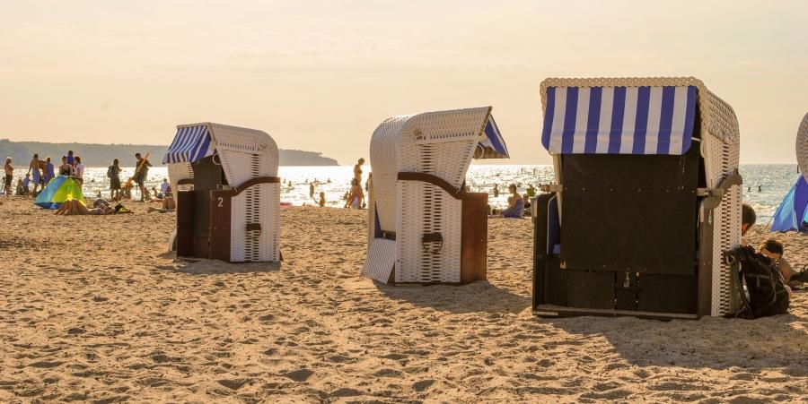 Der neue Stefan macht Urlaub im Strandkorb