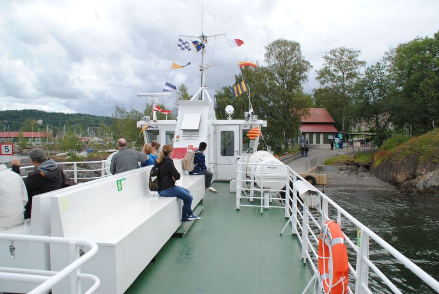 Der neue Stefan Kübler und die Hafenrundfahrt in Oslo.