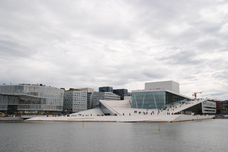 Der neue Stefan Kübler und das Opernhaus von Oslo.